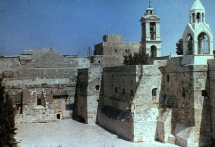 The Church of the Nativity was built over the place believed to be where Jesus was born.